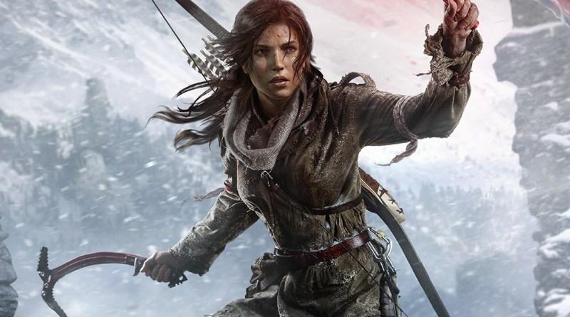 Lara Croft aux portes d'un tombeau…